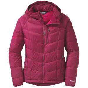 Dámská bunda Outdoor Research Sonata Hooded Down Jacket Velikost: L / Barva: růžová