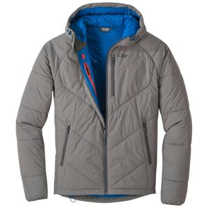 Pánská bunda Outdoor Research Refuge Hooded Jacket Velikost: M / Barva: šedá