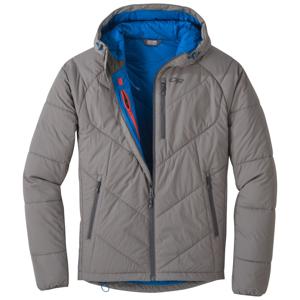 Pánská bunda Outdoor Research Refuge Hooded Jacket Velikost: L / Barva: šedá