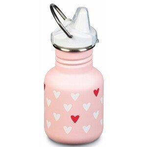 Dětská lahev Klean Kanteen Classic Sippy 355 ml Barva: světle růžová