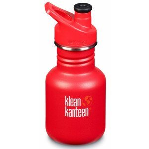 Dětská lahev Klean Kanteen Classic Sport 355 ml Barva: červená