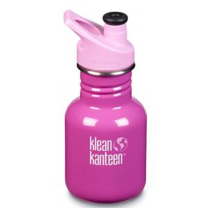 Dětská lahev Klean Kanteen Classic Sport 355 ml Barva: růžová