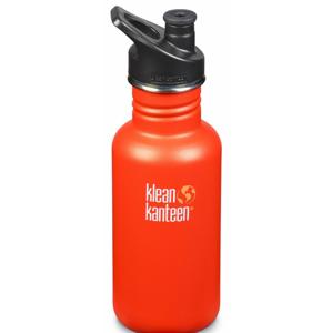 Lahev Klean Kanteen Classic 532 ml (w/Sport Cap) Barva: oranžová