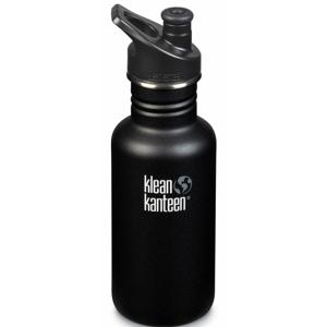 Lahev Klean Kanteen Classic 532 ml (w/Sport Cap) Barva: černá