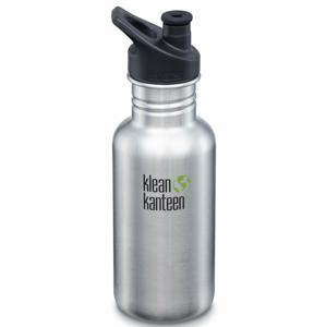 Lahev Klean Kanteen Classic 532 ml (w/Sport Cap) Barva: stříbrná
