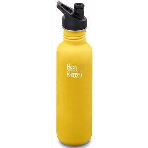Lahev Klean Kanteen Classic 800 ml (w/Sport Cap) Barva: žlutá