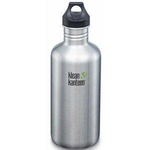 Lahev Klean Kanteen Classic 1182 ml (w/Loop Cap) Barva: stříbrná
