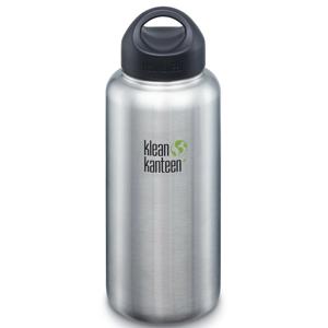 Nerezová lahev Klean Kanteen Wide 1182 ml Barva: stříbrná
