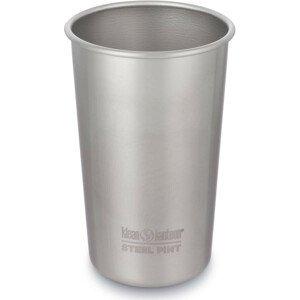 Nerezový pohárek Klean Kanteen Steel Pint 473 ml Barva: stříbrná