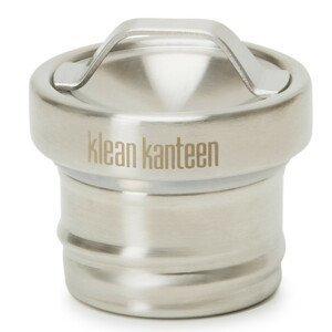 Náhradní uzávěr Klean Kanteen Steel Loop Cap Barva: stříbrná