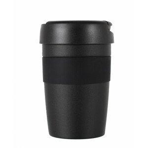 Termohrnek LifeVenture Insulated Coffee Cup, 350ml Barva: černá