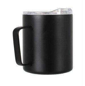 Termohrnek LifeVenture Insulated Mountain Mug Barva: černá