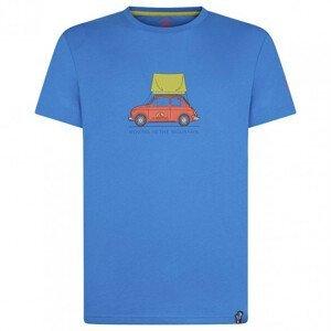 Pánské triko La Sportiva Cinquecento T-Shirt M Velikost: M / Barva: modrá