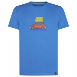 Pánské triko La Sportiva Cinquecento T-Shirt M Velikost: L / Barva: modrá