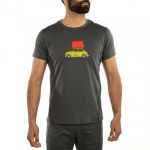 Pánské triko La Sportiva Cinquecento T-Shirt M Velikost: M / Barva: šedá