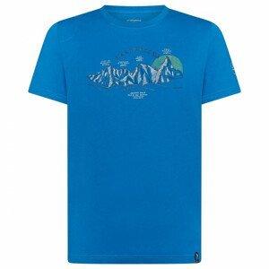 Triko La Sportiva View T-Shirt M Velikost: XL / Barva: modrá