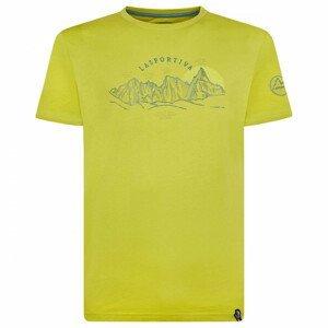La Sportiva Pánské triko La Sporitva View T-Shirt M Velikost: XXL / Barva: zelená