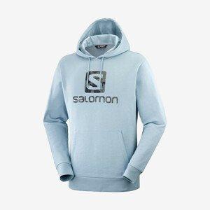 Mikina Salomon Outlife Logo Pullover Hoodie U Summer Velikost: M / Barva: modrá