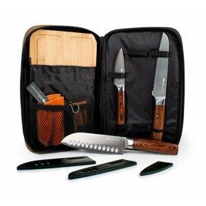 Sada nožů GSI Outdoors Rakau Knife Set Barva: šedá