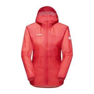 Dámská bunda Mammut Kento Light HS Hooded Jacket Women Velikost: L / Barva: červená