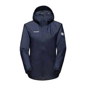 Dámská bunda Mammut Kento Light HS Hooded Jacket W Velikost: L / Barva: tmavě modrá