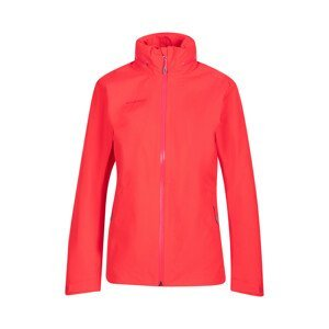 Dámská bunda Mammut Ayako Tour HS Hooded Jacket W Velikost: S / Barva: červená