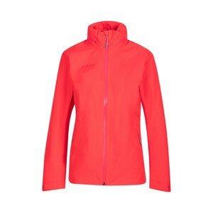 Dámská bunda Mammut Ayako Tour HS Hooded Jacket W Velikost: L / Barva: červená