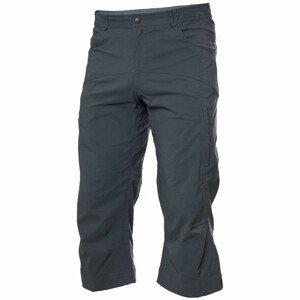 Pánské 3/4 kalhoty Warmpeace Boulder Velikost: XXL / Barva: tmavě šedá
