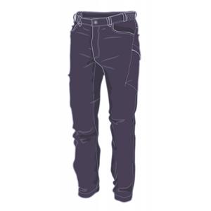Pánské kalhoty Warmpeace Hermit Velikost: XL / Barva: černá