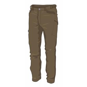 Pánské kalhoty Warmpeace Hermit Velikost: M / Barva: hnědá
