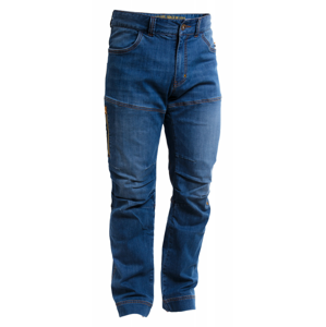 Pánské kalhoty Warmpeace Rigg denim Velikost: XL / Barva: modrá