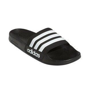 Pantofle Adidas Adilette Shower Velikost bot (EU): 44 (2/3) / Barva: černá/bílá