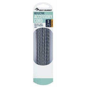 Šňůra Sea to Summit Reflective Cord 3.0mm / 5m Barva: šedá