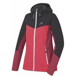 Dámská softshellová bunda Hannah Pulla Velikost: M / Barva: červená/tm.šedá
