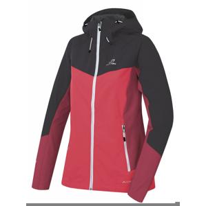 Dámská softshellová bunda Hannah Pulla Velikost: XL / Barva: červená/tm.šedá