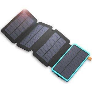 Solární nabíječka AllPowers XD-SC-010-BBLU +powerbank Barva: černá