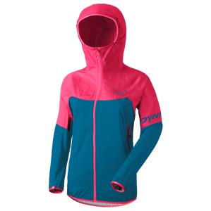 Dámská bunda Dynafit Transalper Light 3L W Jkt Velikost: L / Barva: modrá/růžová