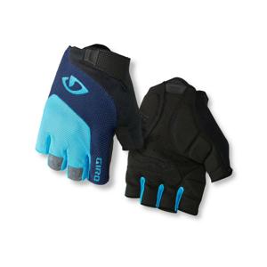Cyklistické rukavice Giro Bravo Velikost: M / Barva: modrá