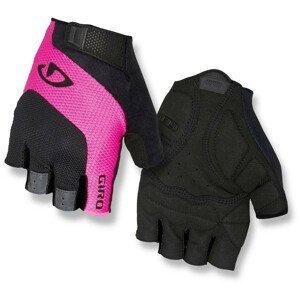 Cyklistické rukavice Giro Tessa Velikost: L / Barva: černá/růžová