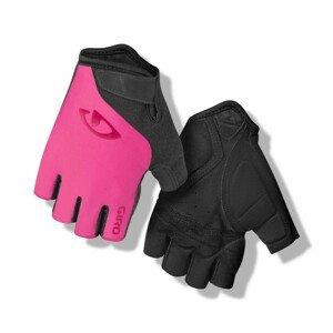 Cyklistické rukavice Giro JagEtte Velikost: M / Barva: růžová