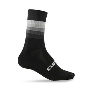 Cyklistické ponožky Giro Comp High Rise Velikost: M / Barva: černá/bílá