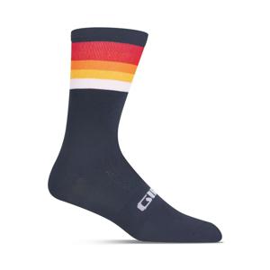 Cyklistické ponožky Giro Comp High Rise Velikost: M / Barva: tmavě modrá