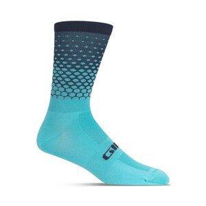 Cyklistické ponožky Giro Comp High Rise Velikost: L / Barva: světle modrá