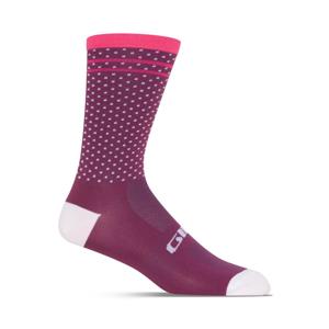 Cyklistické ponožky Giro Comp High Rise Velikost: S / Barva: růžová