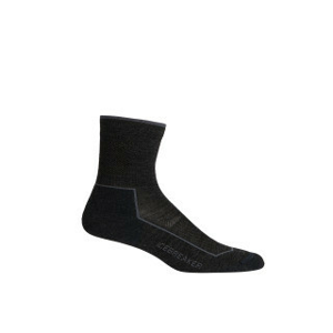 Dámské Ponožky Icebreaker W Hike_Cool-Lite 3Q Crew Velikost ponožek: 35-37 / Barva: šedá