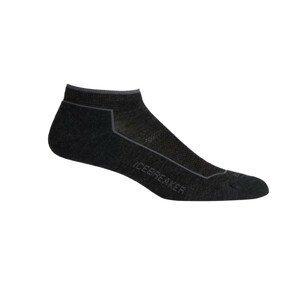 Dámské ponožky Icebreaker W Hike_Cool-Lite Low Cut Velikost ponožek: 35-37 / Barva: šedá