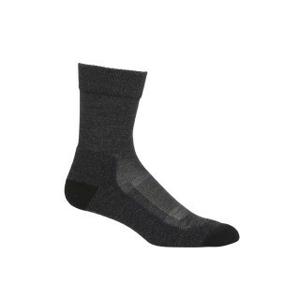 Dámské ponožky Icebreaker W Hike+ Light Crew Velikost ponožek: 41-43 / Barva: šedá