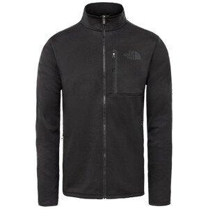 Pánská mikina The North Face Canyonlands Full Zip Velikost: XL / Barva: černá