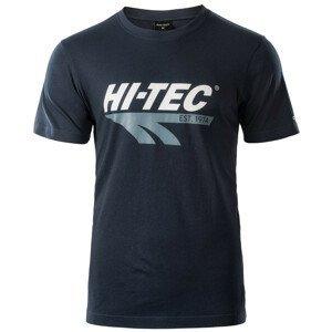 Pánské triko Hi-Tec Retro Velikost: L / Barva: modrá
