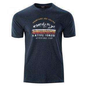 Pánské triko Hi-Tec Eron Velikost: L / Barva: modrá